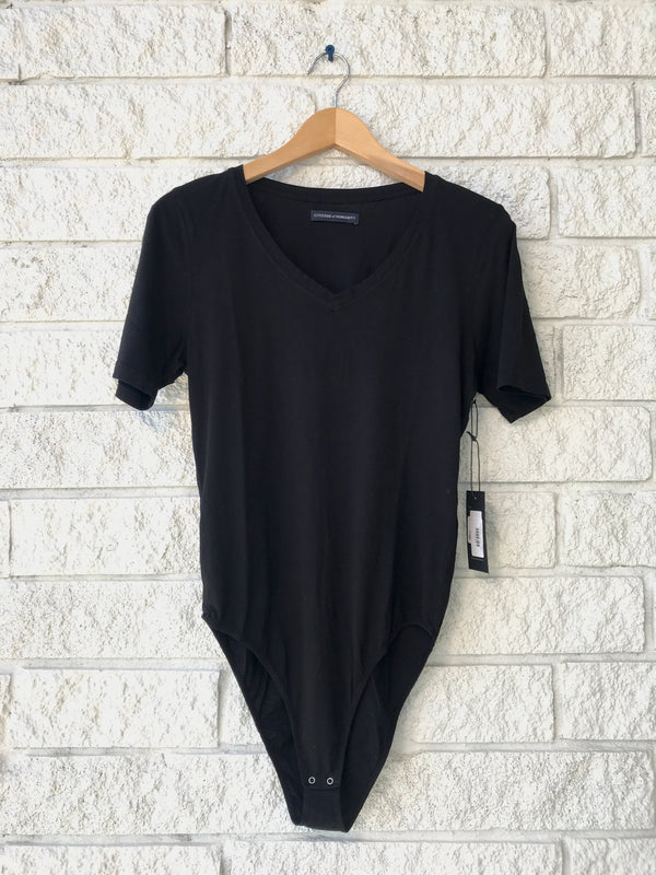 MELANY V NECK BODYSUIT