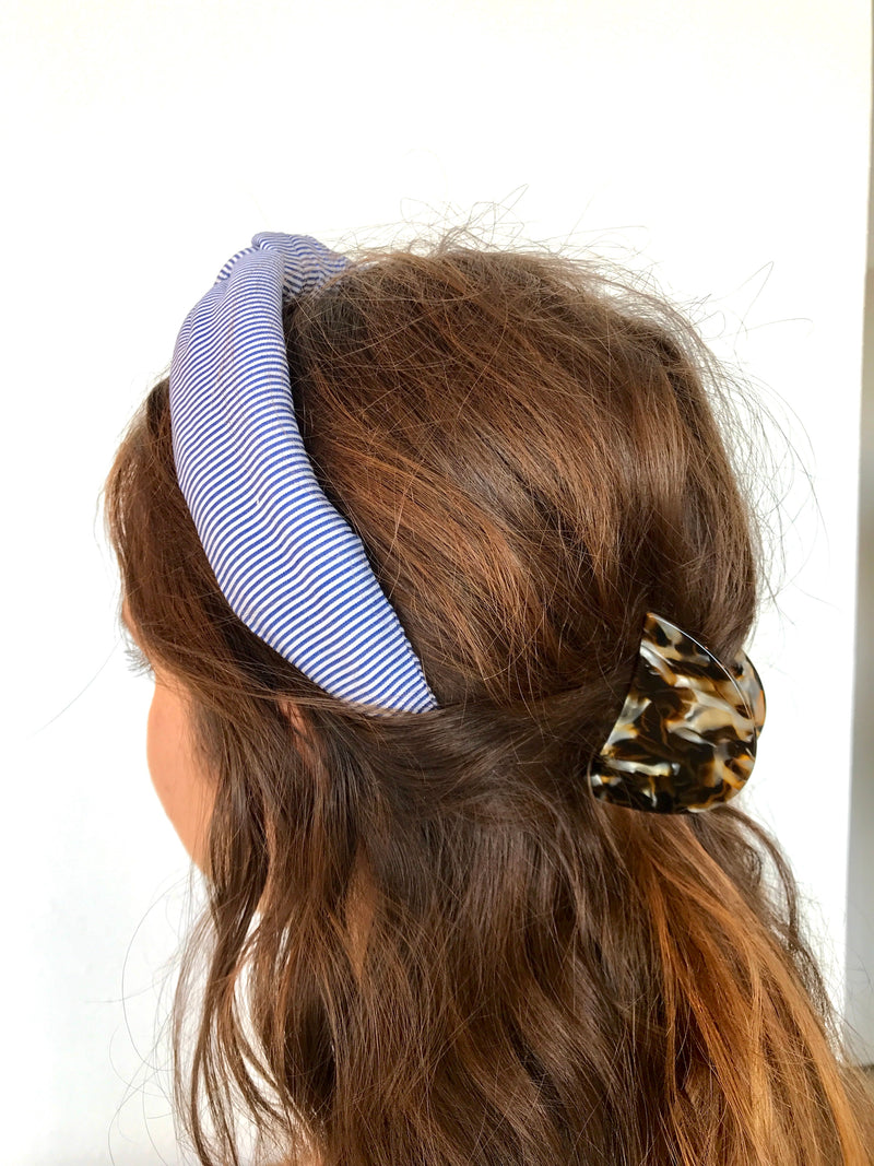 STRIPED KNOTTED HEADBAND