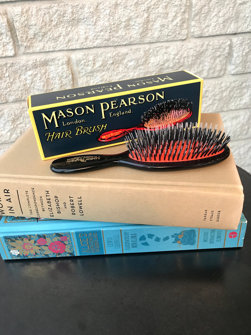 POCKET MIXTURE BRISTLE NYLON HAIR BRUSH