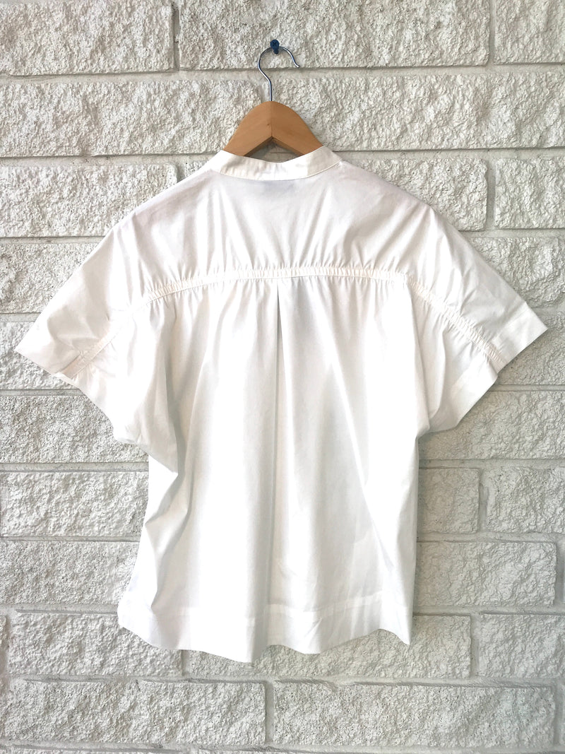 ALICE GATHERED SS SHIRT