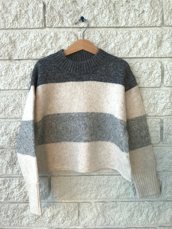 KNIT COLORBLOCK JERSEY