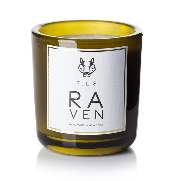 ELLIS TERRIFIC SCENTED CANDLE-RAVEN