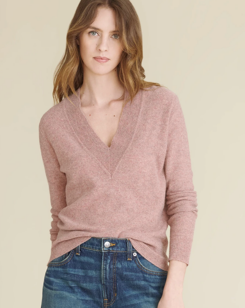 COLETA V-NECK CASHMERE SWEATER