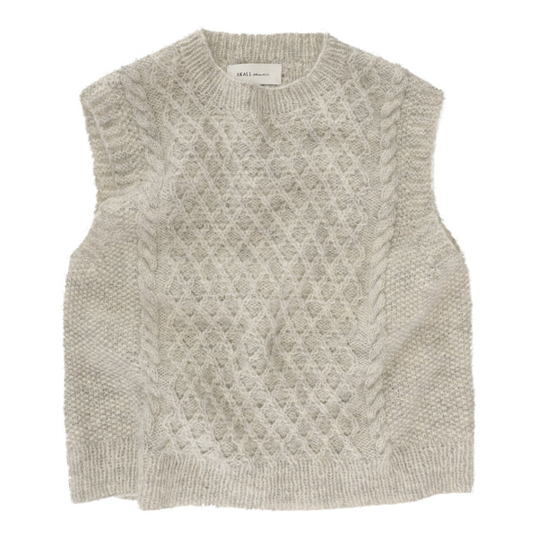 Skall Studio Oda Vest Knitting Pattern Knit