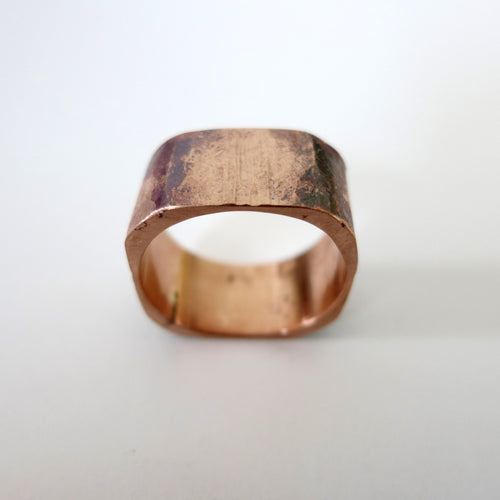 Copper Box Ring