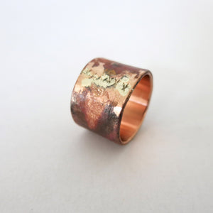 Copper Band: x-stitch