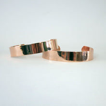 Load image into Gallery viewer, Personalised Copper Cuff