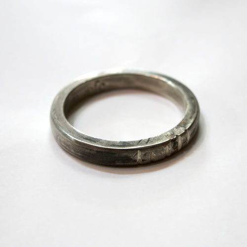 Chunky Silver Band