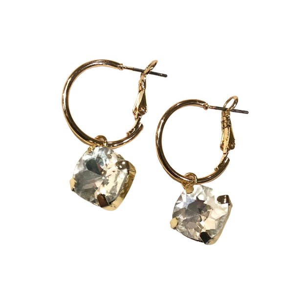 Tiny glam earring Crystal