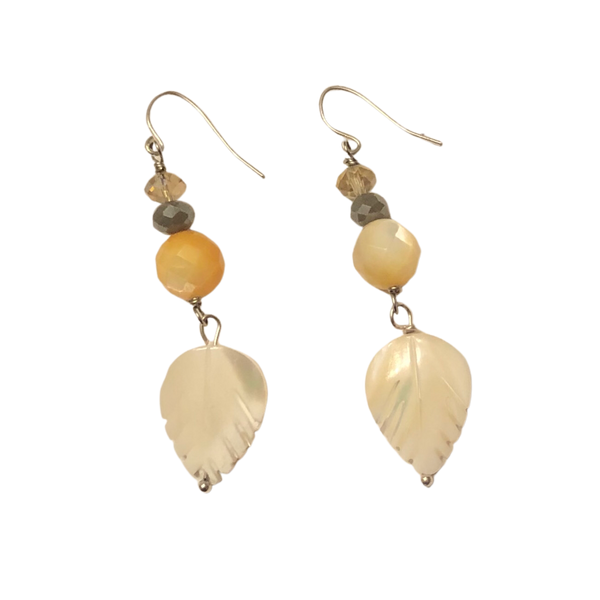 Meringue earrings