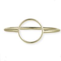 Diameter ring gold