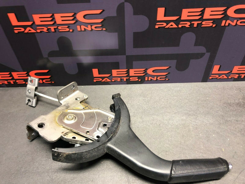 2012 MITSUBISHI LANCER RALLIART EVO X OEM LEATHER PARKING E BRAKE HANDLE