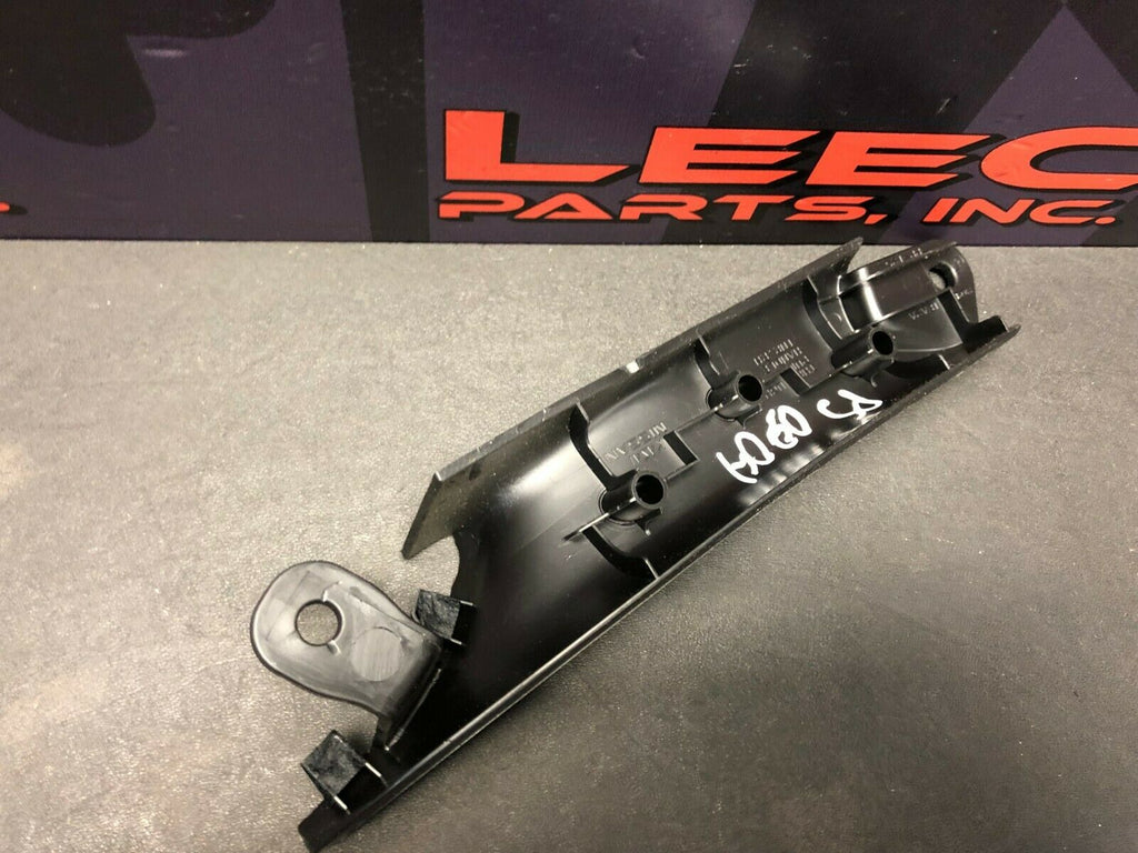 2014 NISSAN 370Z OEM PASSENGER INTERIOR DOOR HANDLE TRIM COVER