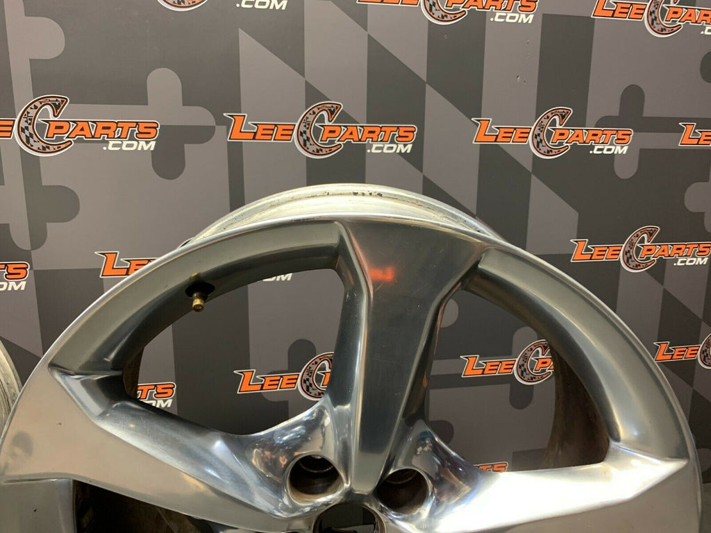2014 CAMARO SS OEM 5X120 20X9 REAR WHEELS RIMS PAIR OF TWO (2)