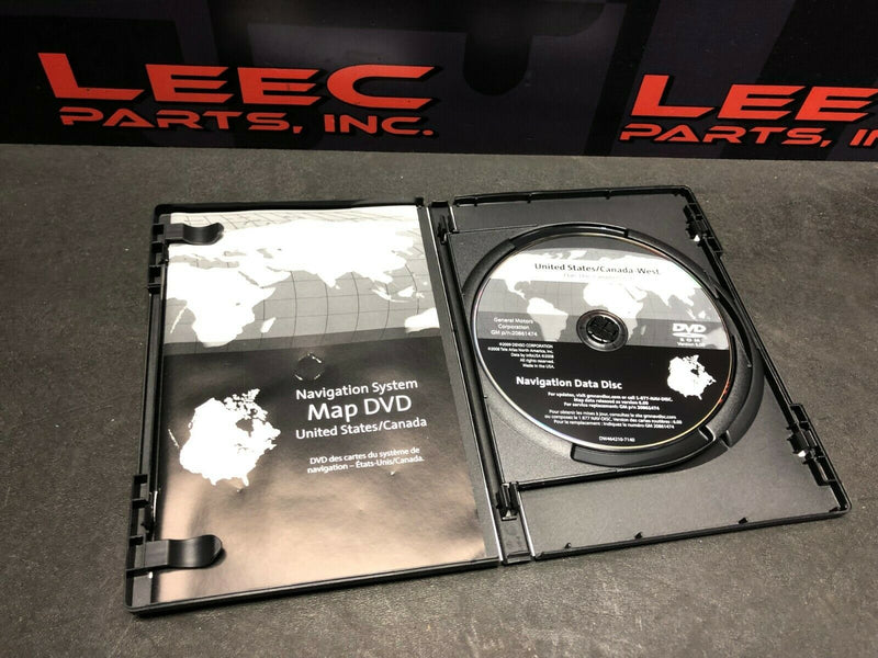 Chevy Chevrolet GM Navigation Disk CD DVD Product # 20861474