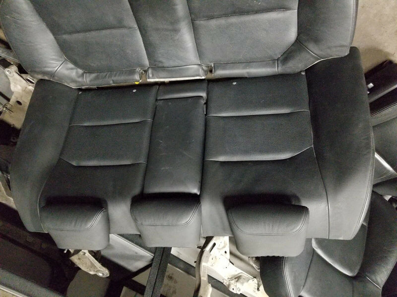 2006 SUBARU LEGACY GT OEM FRONT REAR BLACK LEATHER SEATS SEDAN SET