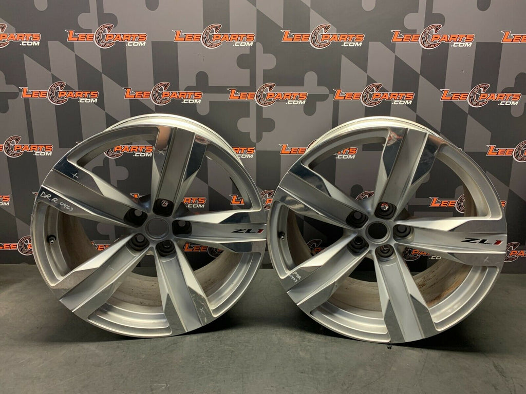 2013 CAMARO ZL1 OEM 20X11 WHEELS RIMS 5X120 PAIR OF TWO (2)