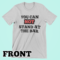 Bartender Corona Bitch Tee-Kween Tees-Front Only-Small-Grey-Kween Tees