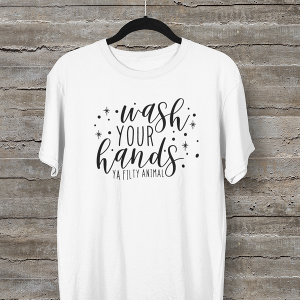 Wash Your Hands Tee-tee-Kween Tees-Kween Tees