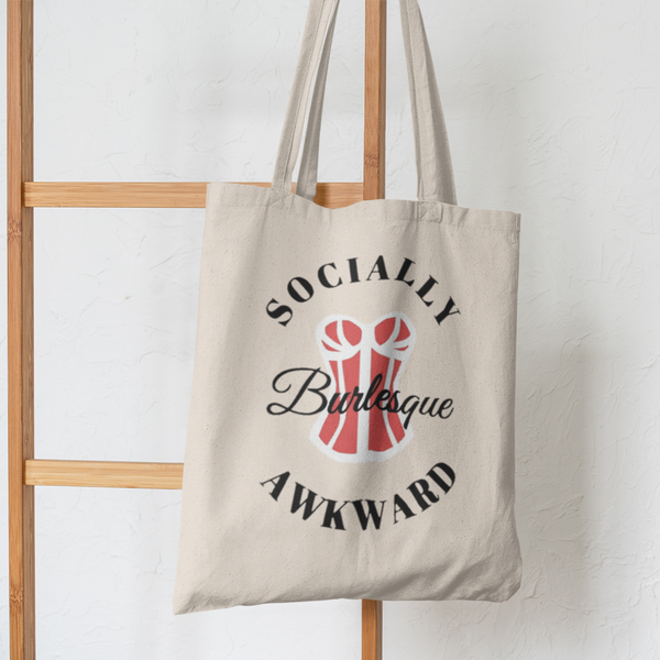 Socially Awkward Burlesque Merch Tote-tote-Kween Tees-Kween Tees