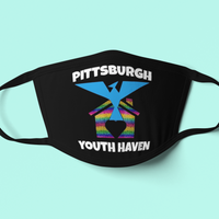 Pittsburgh Youth Haven Mask-mask-Kween Tees-Kween Tees