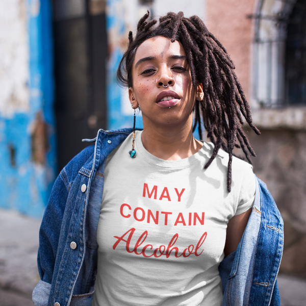 May Contain Alcohol Tee-shirt-Kween Tees