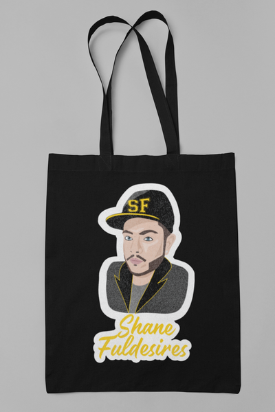 Shane Fuldesires Full Glitter Merch Tote-tote-Kween Tees-Black-Kween Tees