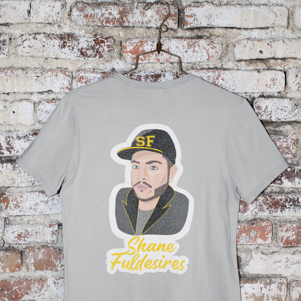 Shane Fuldesires Full Glitter Merch Tee-tee-Kween Tees-Grey-Small-Kween Tees