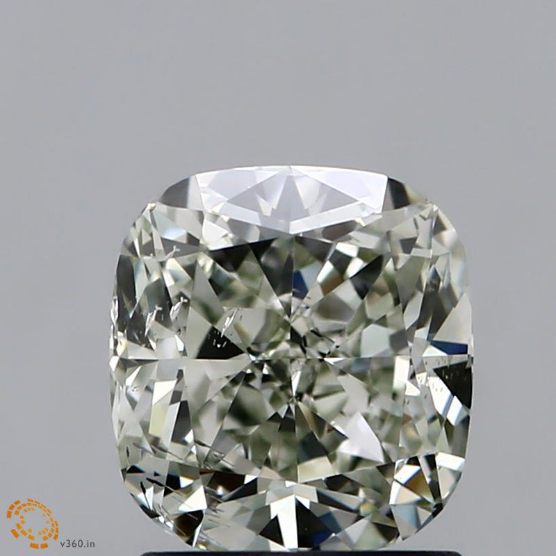 1.51-CARAT Cushion DIAMOND