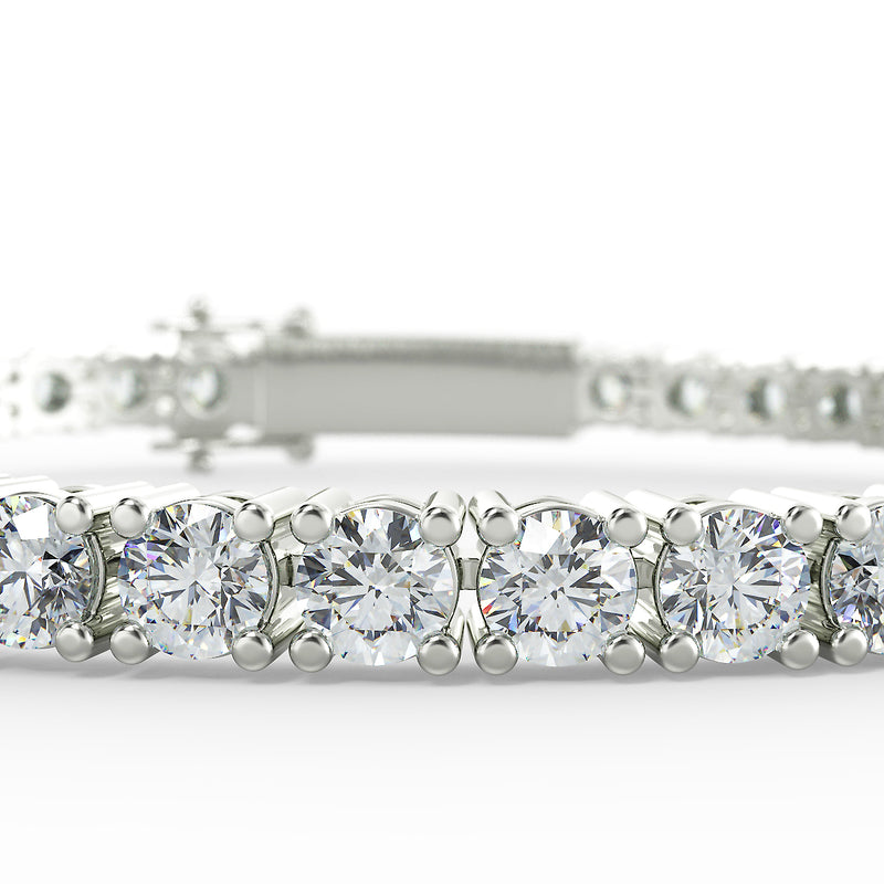 Eco 1 lab diamond tennis bracelet