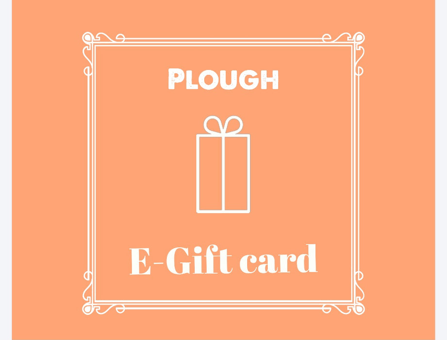 Plough gift card