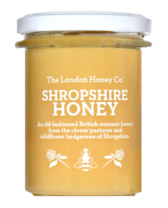 Pure Honey - Shropshire creamed honey jar
