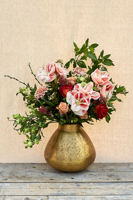 Winter Bells Bouquet by Kingfisher Flower Shop