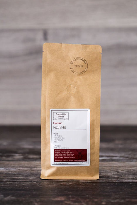 PITCH HILL ESPRESSO, 250G BEANS
