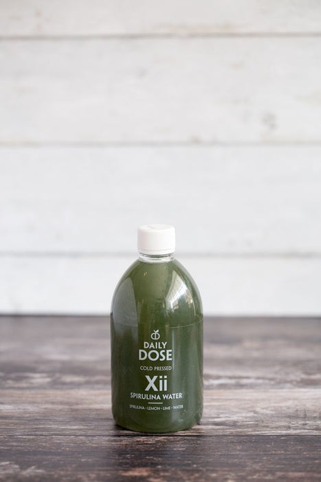 Spirulina - cleansing water