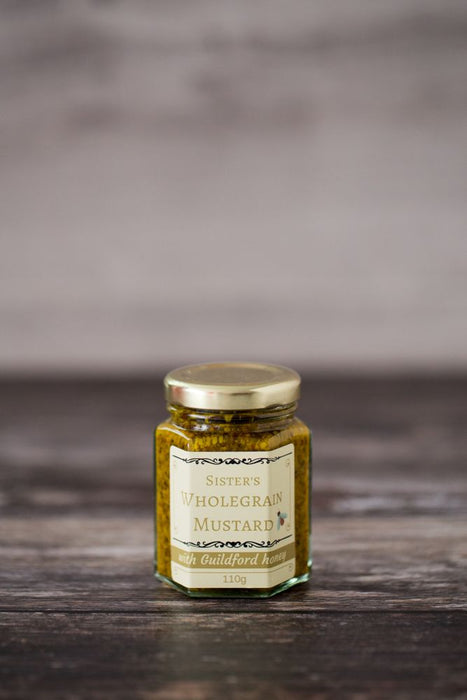 Wholegrain Mustard with Guildford Honey