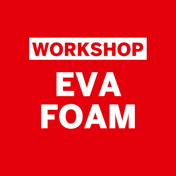 Workshop Henk Rijckaert • EVA-foam • Zaterdag 14 november 2020