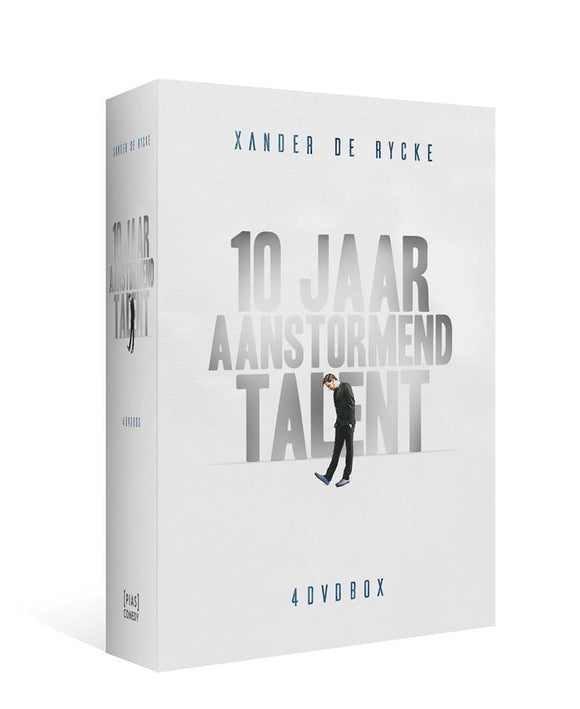 10 JAAR AANSTORMEND TALENT (BOX MET 4 DVD'S)