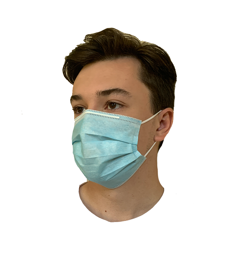Disposable Face Mask (50 Count) In Stock in Philadelphia