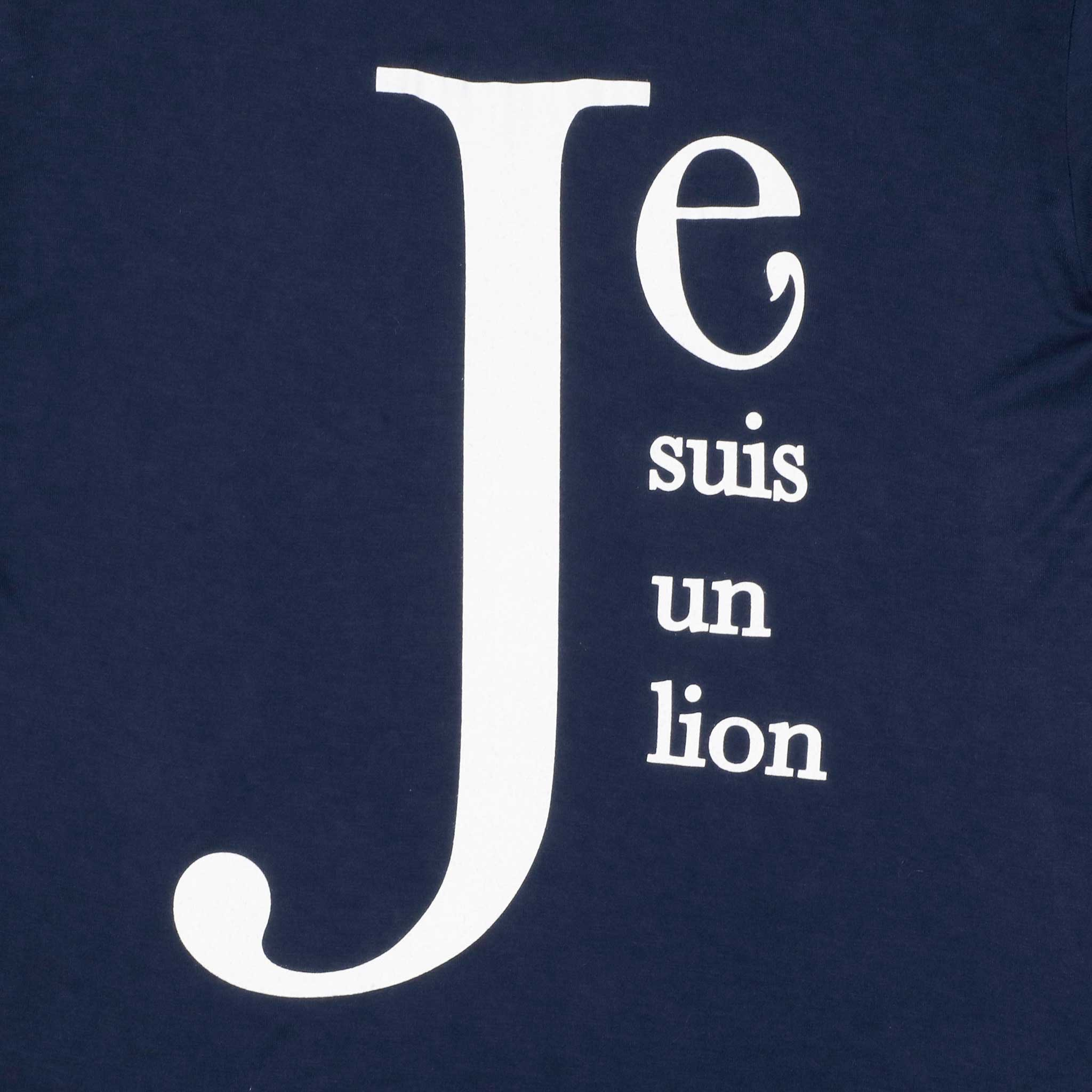 Je Suis un Lion T Shirt - Vaughn de Heart