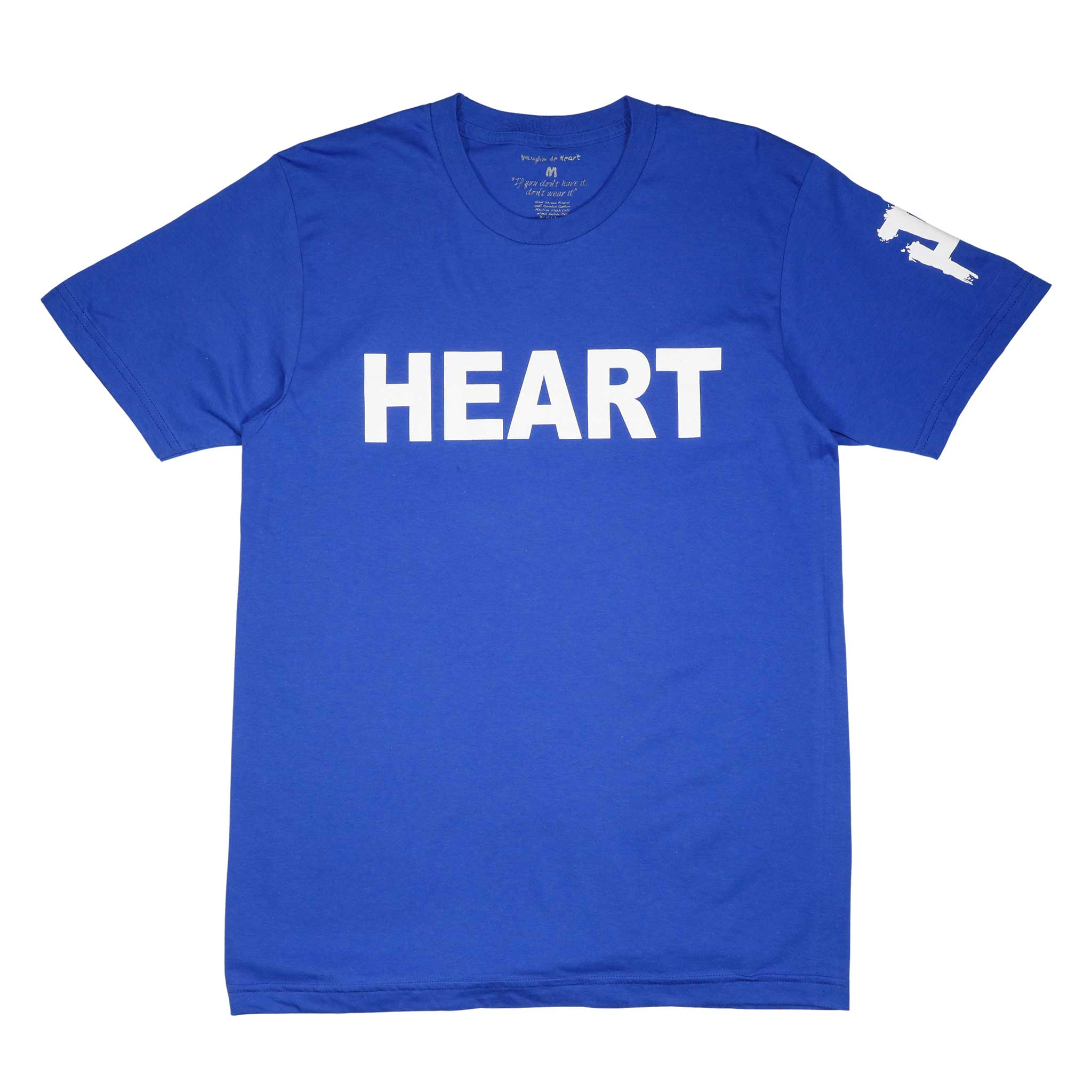 Heart Blue and White - Vaughn de Heart