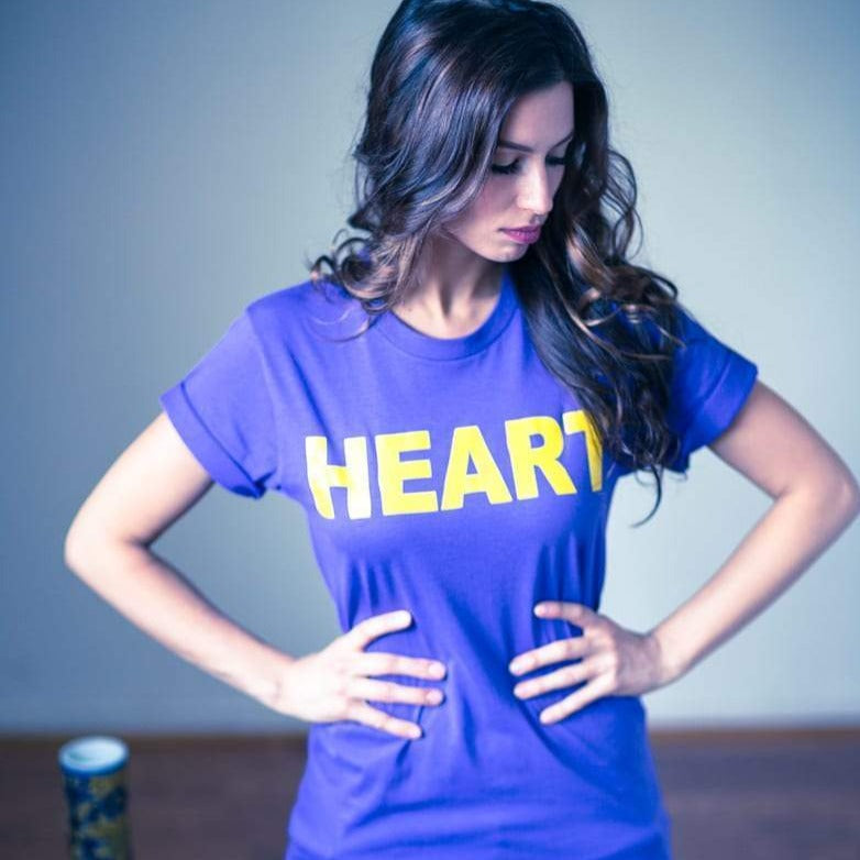 Heart Purple and Gold - Vaughn de Heart