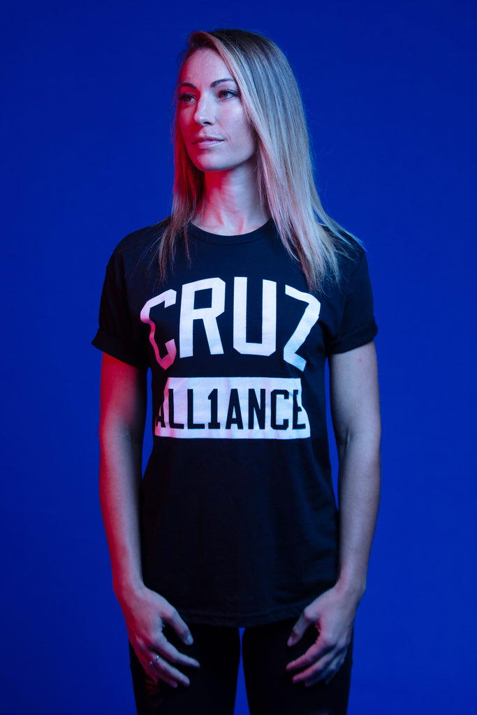 "Dominick Cruz ""CruzAll1ance"" Adult T Shirt"
