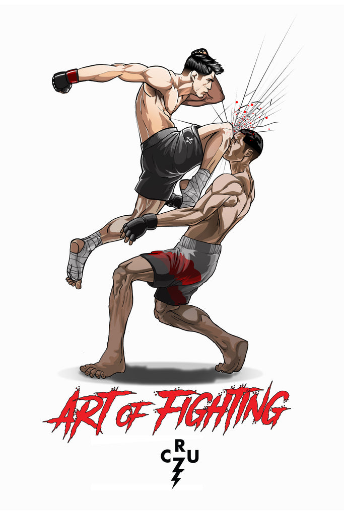 "Dominick Cruz ""Comeback King"" Limited Edition Poster"