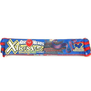 Airheads Xtreme Belts Bluest Raspberry 56g - Candy Mail UK