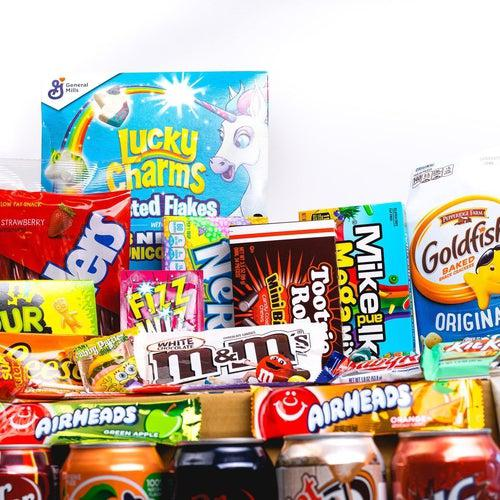 American Candy Mega Box - Candy Mail UK