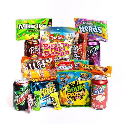 American Candy Supreme Box - Candy Mail UK