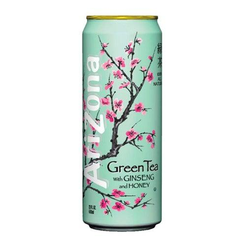 Arizona Green Tea with Ginseng and Honey 680ml - Candy Mail UK