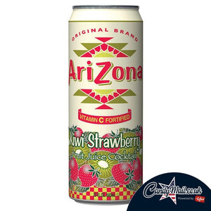 Arizona Kiwi and Strawberry Iced Tea 680ml - Candy Mail UK