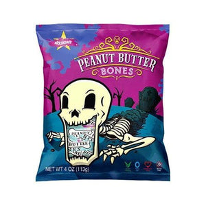 Atkinson Halloween Skeleton Peanut Butter Bones Bag 113g - Candy Mail UK